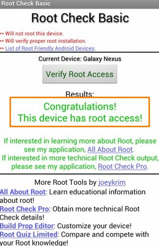 How to root Creo Mark 1