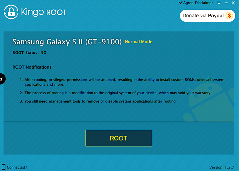 How to root MyWigo Turia 1