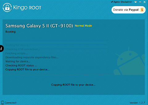 How to root teXet TM-5204