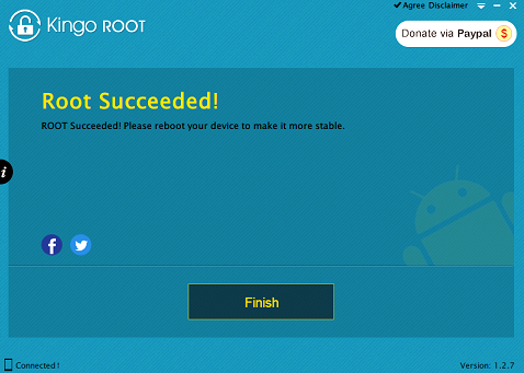 How to root Samsung Galaxy V Duos